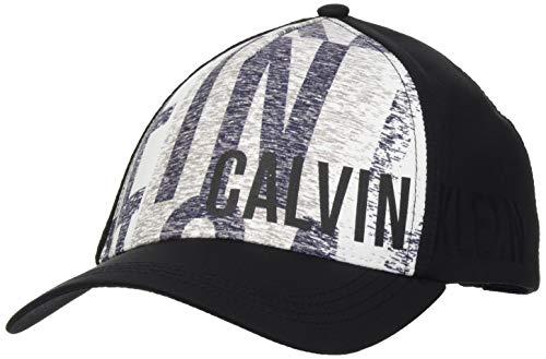 Calvin Klein Unisex Cap-Logo Verschluss, Ikat White, OS