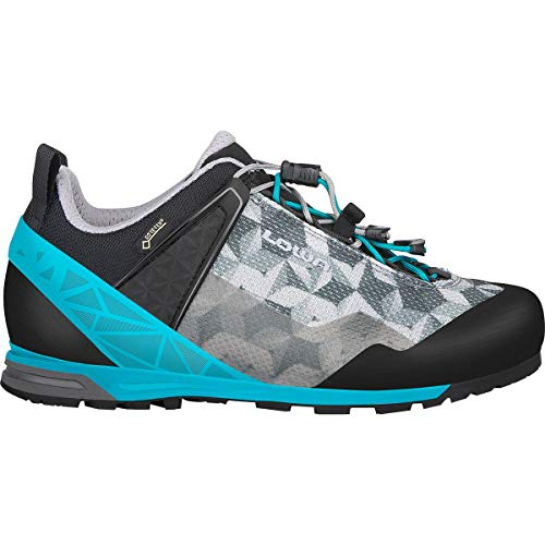 Lowa Approach Pro GTX LO Women - Graphite/Turquoise
