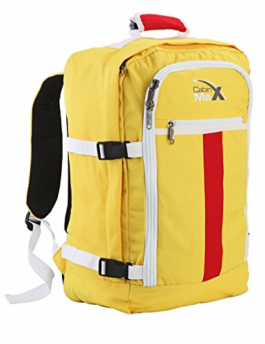 Cabin Max Backpack Flight Approved Carry On Bag Massive 44 litre Travel Hand Luggage 55x40x20 cm (Espana)