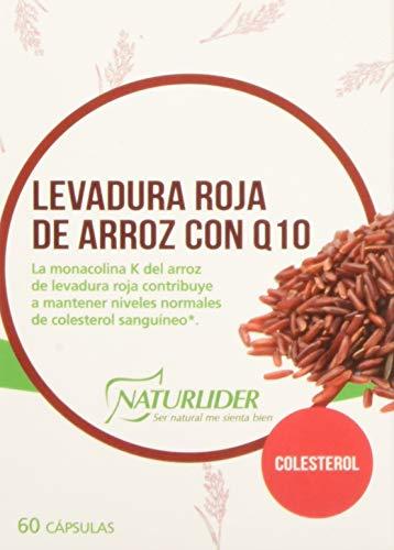 Naturlider Levadura roja de Arroz con Q10-60 Cápsulas