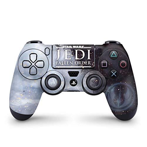Skin Adesivo para PS4 Controle - Star Wars Jedi Fallen Order