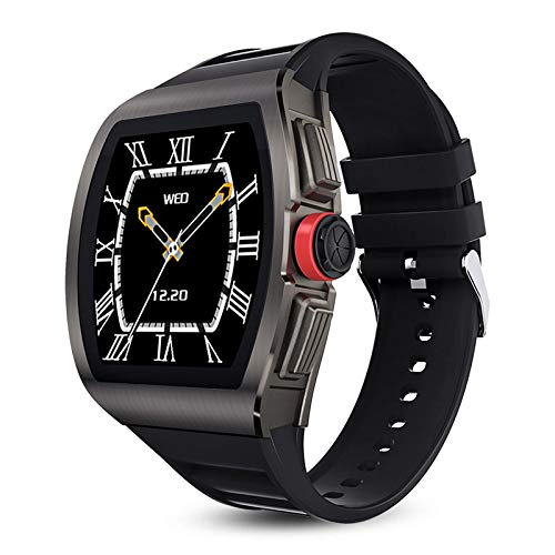 M1 Smart Watch, Fitness Tracker,2021style, Ip68 Waterproof, with Oxygen Saturation, Bluetooth Call, Children's Male and Female Pedometer,Removable Strap(Black)