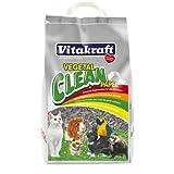 Vitakraft - Vegetal Clean Papel, Lecho Higiénico para Todo Tipo de Roedores - 25 L