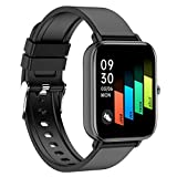 CNPGD Smart Watch for Android Phones Samsung iPhone Compatible Watch Cell Phone Touch Screen Fitness Tracker Pedometer Sleep Monitor for Men and Women