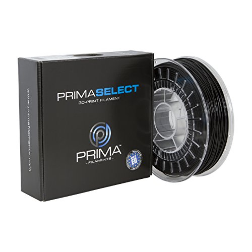 PrimaCreator PrimaSelect 3D Drucker Filament - PETG - 1,75 mm - 750 g - Schwarz