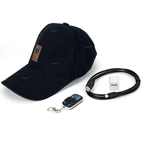 WISEUP 16GB 1920x1080P HD Spion Kamera Baseballmütze Draussen Sport Hut Tragbar Aktion DV Camcorder mit Aufzeichnung