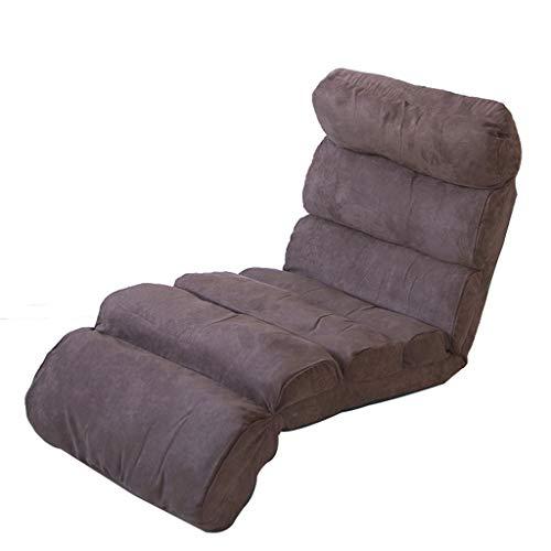 LSRRYD vloerstoel met gevoerde rugleuning Faule Couch, vloerstoel inklapbaar outdoor, vloerstoel bekleed
