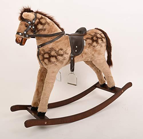 ALANEL T Grand cheval à bascule de qualité supérieure fait main