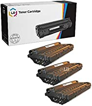 LD Compatible Toner Cartridge Replacement for Samsung ML-1710D3 (Black, 3-Pack)