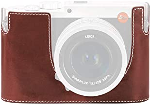 Leica Protector - Q (Typ 116), Leather, Vintage Brown,(No Embossing)