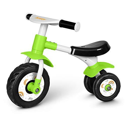 besrey Bicicleta sin Pedales 1 Año - 2 años,Bicicleta Bebe,Bicicleta sin Pedales Bebe,Bicicleta Equilibrio,Verde