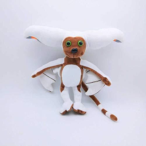 OELPAN Toys Anime Kawaii Avatar Der letzte Airbender Appa Teddy-TV-Serie TV-TV-Stofftuch Minion gefüllte Puppen-Kinderspielzeug (Farbe: 28cm) (Color : 28cm)