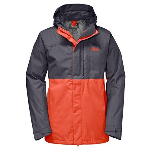 Jack Wolfskin Nimrod Wetterschutz-Jacke, für Herren, Herren, 1108361, Mango Orange, S