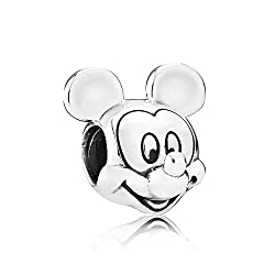 24 Unique Disney Gift Ideas featured by top US Disney blogger, Marcie and the Mouse: Mickey pandora bead