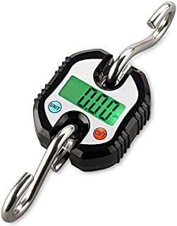 JJJJD Baggage Scale Portable Household Luggage Scale/Maximum Weighing 150kg Small Travel Electronic Scale (Color : Black)