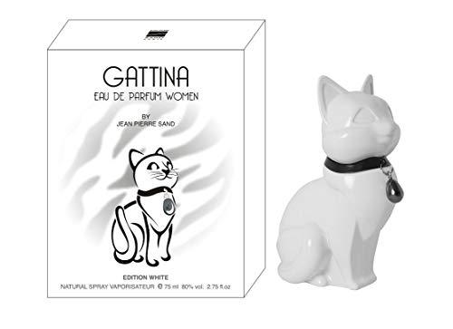 Jean-Pierre Sand Gattina White EdP for Women, 75 ml