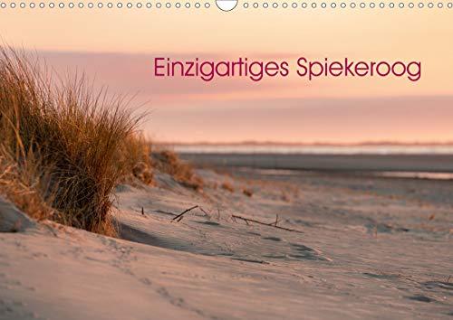 Einzigartiges Spiekeroog (Wandkalender 2021 DIN A3 quer)