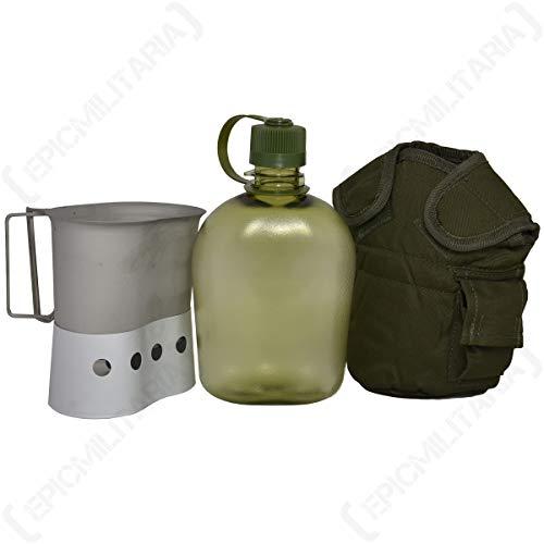 US Feldflasche Gen.II Set
