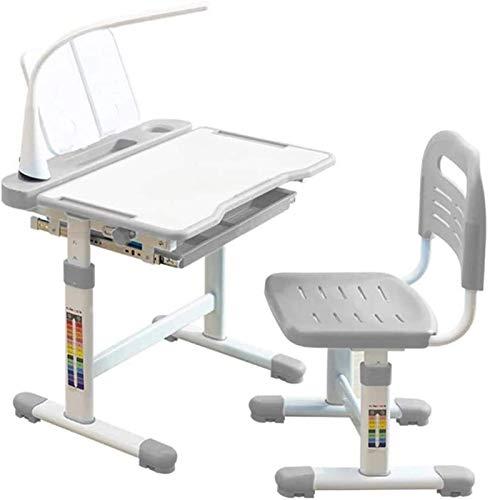 Tägliche Ausrüstung Kinder Schreibtisch- und Stuhlset Kinder Schreibtisch- und Stuhlset Höhenverstellbare Kinder Schreibtisch Schreibtischset Schulschlafzimmer Schülerschreibtisch mit ausziehbarer