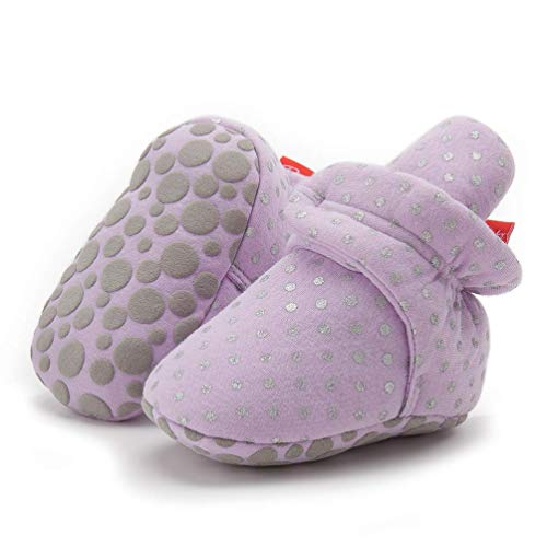 Purple Infant Boots