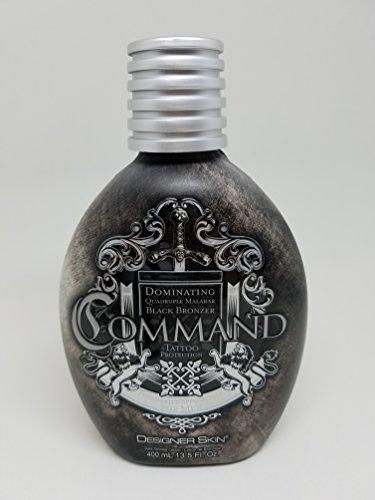 Designer Skin Command Tanning Lotion 13.5oz Bottle