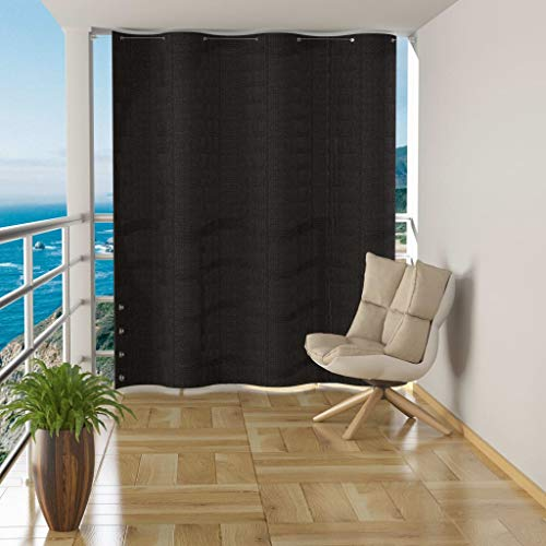 Disfruta Tus Compras con Toldo Cortina para balcón PEAD Gris Antracita 140x230 cm