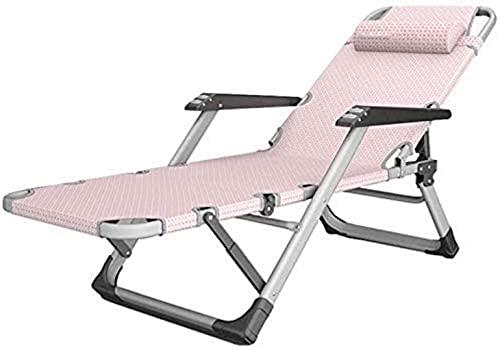 BeingHD Qualitätsbürostuhl, Bürostuhl mit Armlehne Büro Relax Chair mit Kopfstütze Ergonomische Liegestuhl Liegestuhl Terrassenstuhl Justierbare Fußstütze