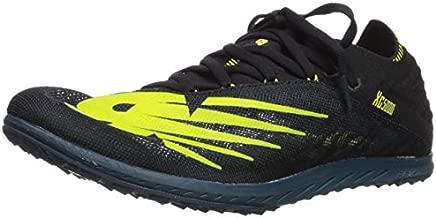 New Balance Men's Cross Country 5K V5 Running Shoe, Supercell/Sulphur Yellow, 11.5 M US