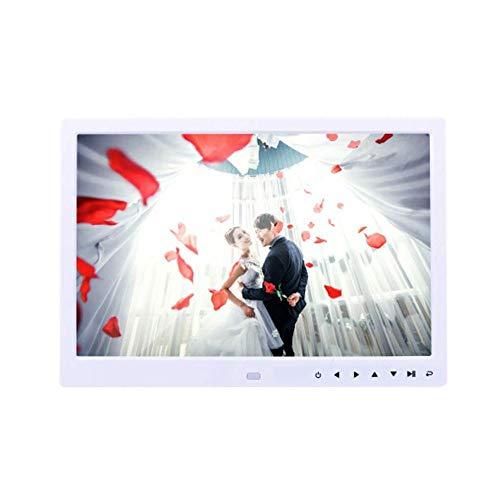BHDYHM Digitale frame, HD 13-inch videoreclamemachine van de digitale fotolijst, led voor elektronisch fotoalbum