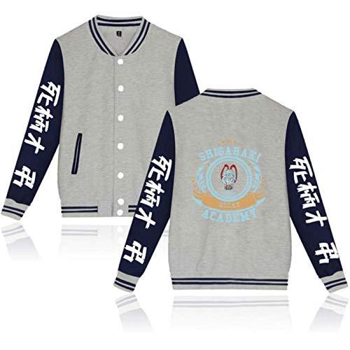 Einson 2021 Shigaraki Tomura Jacket Women Streetwear My Hero Academia Baseball Jackets Plus Size for Men and Women Streetwear
