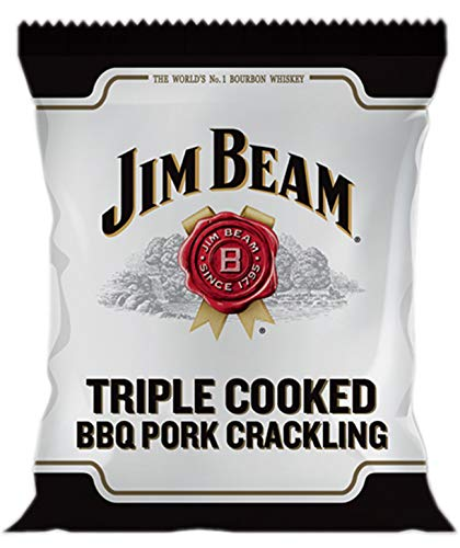 Jim Bean Dreifach gekochtes Schweinefleisch, knisternd, 12 x 40 g, glutenfrei