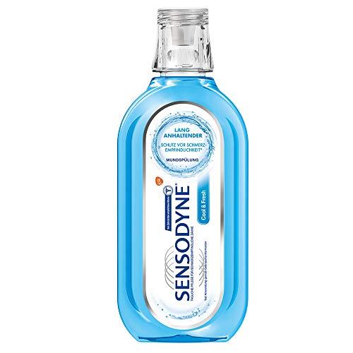 Sensodyne Cool & Fresh Mundspülung, tägliche Mundspülung mit Fluorid, 1x500ml, für schmerzempfindliche Zähne