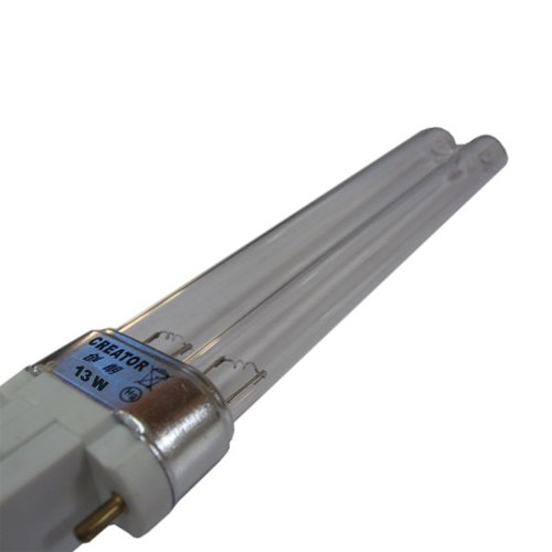 Mauk Leuchte, Ersatz UVC Leuchtmittel Röhre 13 W für XL Set, weiß, 16 x 4 x 2 cm, 1960
