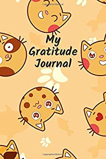 100 Days of Gratitude - Blank Gratitude Diary - Funny Cat Design: Ideal for teens and pre-teens, use for improving mood and mindfulness