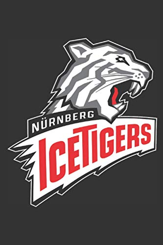 Nürnberg Ice Tigers Notebook: Minimalist Composition Book | 100 pages | 6