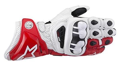 Alpinestars GP Pro - Handschuhe, Farbe weiss-rot-schwarz, Grße 3XL / 12