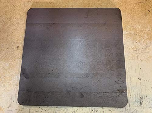 1/4 x 16' x 16' Steel Plate, A36 Steel, 0.25' Thick