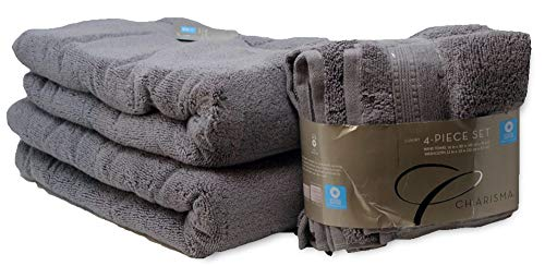 Charisma Plush Towels Bundle | Includes: 2 Luxury Bath Towels, Hand Towels & Washcloths | Quality, Ultra Soft Towel Set | 6 Pieces