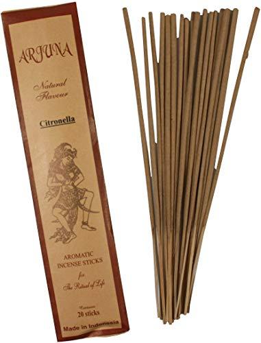 Guru-Shop Bâtonnets D`encens Arjuna - Belle Citronnelle, Marron, Bâtonnets D`encens de Bali
