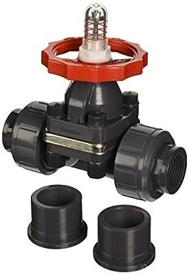"""Hayward PVC Diaphragm Valves, FPM Seal, 1"""" Socket/Threaded from Hayward"""
