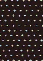 igsticker ポスター ウォールステッカー シール式ステッカー 飾り 841×1189㎜ A0 写真 フォト 壁 インテリア おしゃれ 剥がせる wall sticker poster 012910 黒 カラフル キラキラ