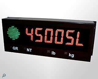 Remote Display: Western Weighing Aurora 45 SL, 4.5 Inch LED Remote Display, Weatherproof Enclosure NEW !!