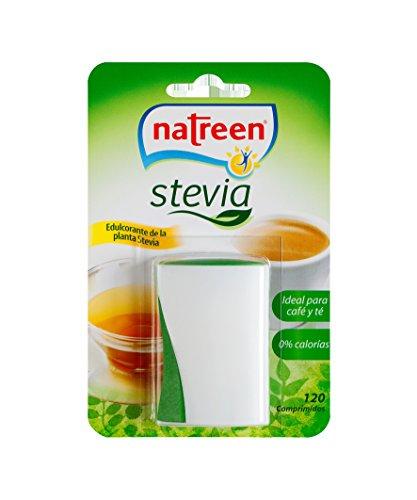 Natreen Edulcorante Comprimidos Miniwave Dispensador Stevia, 120Pc