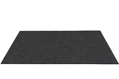 Premium Schreibtischunterlage XXL Schreibunterlage Graphit 60 x 90cm Filz