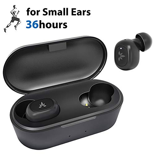 Avantree TWS115 Tiny True Wireless Earbuds for Small Ear Canals, Sport...