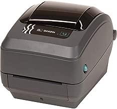 Zebra Gk420t Thermal Transfer Printer - Monochrome - Desktop - Label Print - 4.09 Print Width - GK42-102211-000