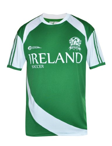 Croker Ireland Soccer Shirt, Green, XL