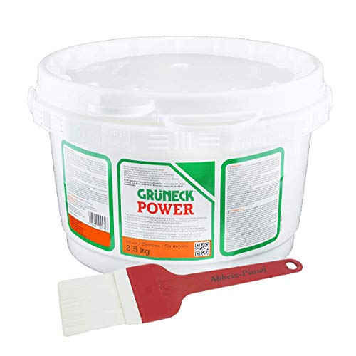 Abbeizer Set: Grüneck Power 2,5kg mit Abbeizpinsel 60mm