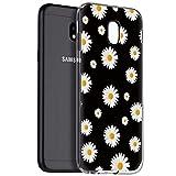 Pnakqil Funda Samsung Galaxy J3 2017, Silicona Transparente con Dibujos Diseño Slim TPU...