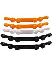 Oriley ORAMS4P Mask Adjuster Strap Adjustable Masks Extender Hook Anti Slip Extension Clip Holder Buckle for Relieving Ear Pressure (5 PCS, Random Color)